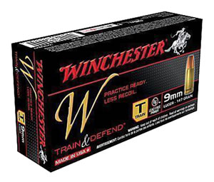 Winchester Ammo W9MMT W 9mm Luger 147 GR Full Metal Jacket 50 Bx/ 10 Cs