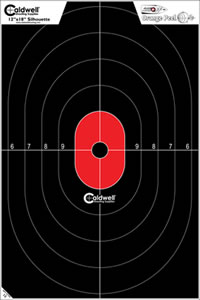 Caldwell 412-803 Flake Off Silhouette Center Mass Target 8 Pack