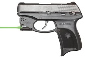 Viridian R5LC9 Reactor R5 Ruger LC9/380 Green Laser 5mW Black Hard Polymer