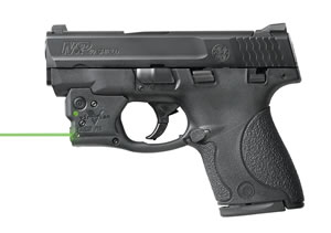 Viridian R5SHIELD Reactor R5 Green Laser S&W Shield 5mW Trigger Guard Black Finish