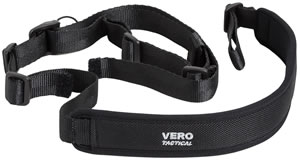"Vero V18030 Tactical Rifle Two Point Sling 1"" Swivel Size Black"