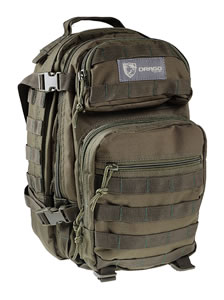 "Drago Gear 14305GR Scout Backpack  Tactical 600D Polyester 16""x10""x10 Green"