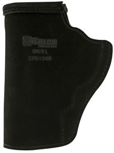 "Galco STO164B Stow-N-Go Inside The Pants 3"" Barrel S&W J Frame Steerhide Center Cut Blk"