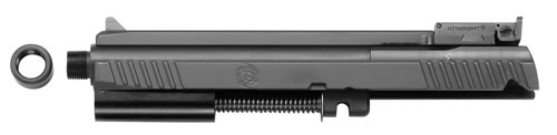 "Tactical Solutions 2211TESSSTD 2211 Conversions with Standard Rail Threaded Barrel 4.8"" Black Steel"