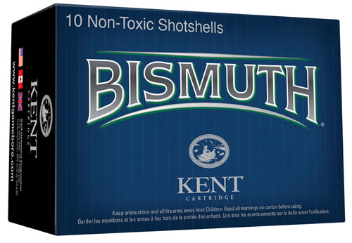 "Kent Cartridge  Bismuth Waterfowl 12 Ga 2.75"" 1 1/16 oz 6 Shot 10 Bx/ 10"