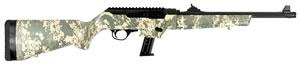 RUG 19107 PC CARBINE 9MM DIGITAL CAMO         17RD