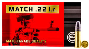 GECO 235940050 22LR 22 Long Rifle Match 40 GR 50 Bx/100 Cs