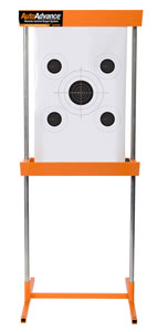 Lyman 4320051 Auto-Advance Target System 1 Metal Frame/5 Targets/1 Corrugated Plastic Board
