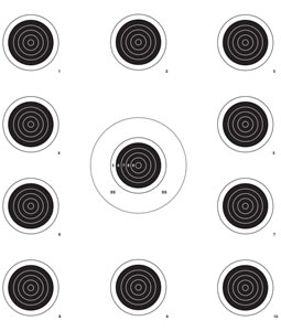 Lyman 4320076 Small Bore Target Roll 1