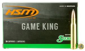 HSM 2842N Game King 284 Winchester 160 GR SBT 20 Bx/ 25 Cs