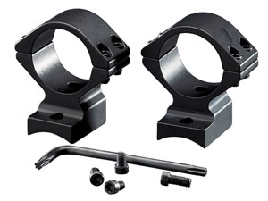 Browning 12391 2-Piece Base/Rings For Browning A-Bolt Integral Mounting System Style Black Matte Finish