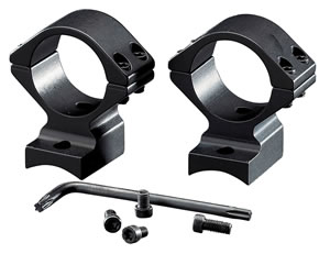 Browning 12393 2-Piece Base/Rings For A-Bolt Integral Mounting System Style Black Matte Finish