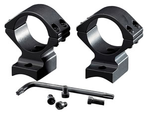 Browning 12377 2-Piece Base/Rings For Browning BAR/BLR Integral Mounting System Style Black Matte Finish