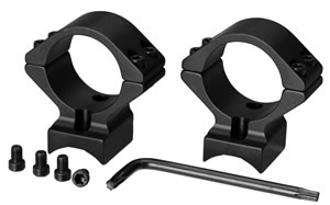 Browning 12338 2-Piece Base/Rings For Browning T Bolt Integral Mounting System Style Black Matte Finish