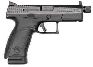 CZ P10 C Striker Fired Pistol 91523, 9mm, 4.6 in, Black, 17 Rd