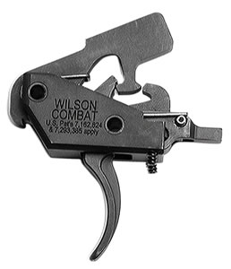 Wilson Combat TRTTUM2 Tactical Trigger Unit Two-Stage Steel Black