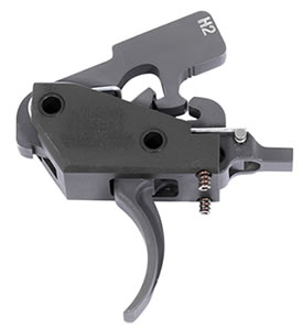 Wilson Combat TRTTUH2 Tactical Trigger Unit Two-Stage Howe Steel Black