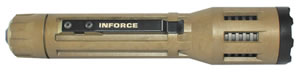 Inforce 9VX-F-W 9VX White 60/500 Lumens CR123A Lithium (3) Tan