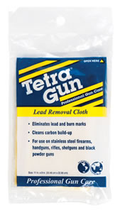 "Tetra 330I Gun Lead Removal Cleaning Cloth 10"" x 10"""