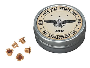 CCI 301 Muzzleloader Musket Caps Brass 1000/5