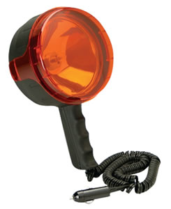 Cyclops CYCS40012VR Seeker Spotlight 4 Million Candlepower Black