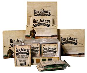 "Gun Johnny GJ006 Disposable Waterproof Gun Bag Treated Plastic 12""x70"" Asst 24"