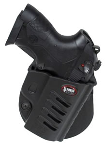Fobus BRCH Rapid Release Paddle Holster  Beretta PX4 Storm Plastic Black