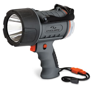 Cyclops CYC300WP Waterproof LED Spotlight 300 Lumens Lithium Gray