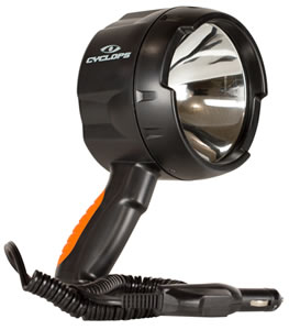 Cyclops CYCHS140012V Spotlight 12V Direct 1400 Lumens Blk