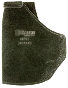 "Galco STO444B Stow-N-Go Inside The Pants  Springfield 3"" XD 9/40 Steerhide Blk"