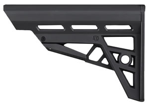 Advanced Technology B2102212 AR-15 TactLite Polymer Black 6 Pos Collapsing
