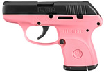 Ruger LCP Pink Pistol 3717, 380 ACP, 2.75 in, Pink Grips, Black Slide, 6+1 Rds
