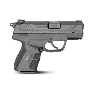 Springfield XD-E Pistol XDE9339BE, 9mm, 3 in, Black, 8+1 Rds
