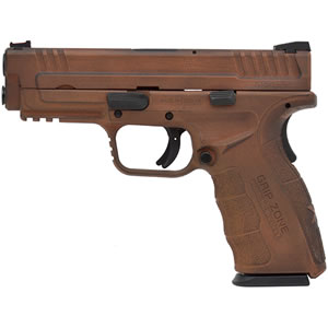 Springfield XDG 9MM SPARTAN COPPERCLAD FINISH