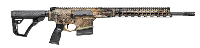 "Daniel Defense DD5 Ambush Rifle 02-154-19029-067, 308 Win/7.62, 18"" BBL, Semi Auto, 6-Pos Black Stock, Realtree Xtra Finish, No Mag (CO Compliant)"