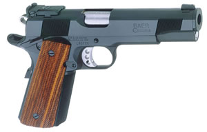 Les Baer 1911 Prowler III Pistol LBPIII45, .45 ACP, 5 in BBL, Prem Chk Cocobolo Grips, Blue Finish, 8 Rds