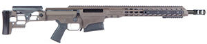 "Barrett MRAD Rifle System 14346, .338 Lapua, 20"" Heavy Match Grade Barrel, Bolt-Action, Folding Stock, Adj Match Trigger, Multi-Role Brown Cerakote Finish, 10 Rds"