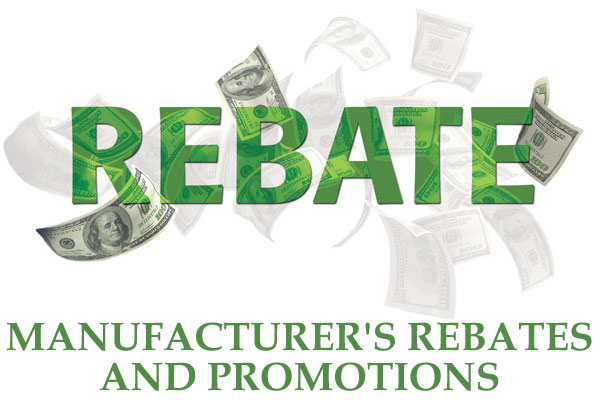 Manufacturers Rebates on Firearms and Ammo