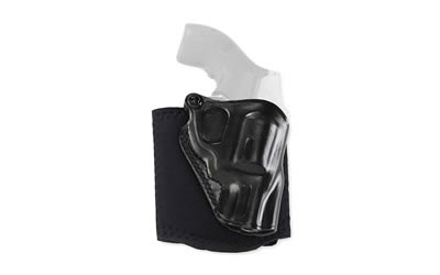 Galco Ankle Glove Ankle Holster, Fits Glock 26, Right Hand, Black Leather  AG286B