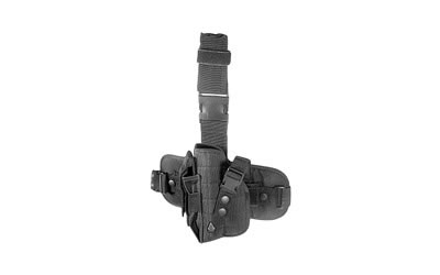 Leapers - UTG Special Ops Universal, Leg Holster, Fits Most Large Autos, Left Hand, Black Finish PVC-H178BL