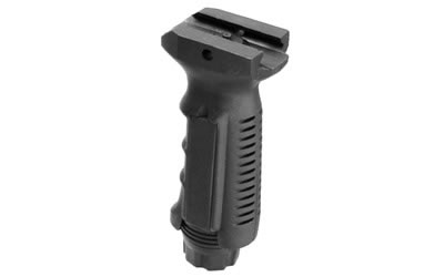 Leapers - UTG Vertical Foregrip, Ergonomic Finger Grooves, Ambidextrous, Picatinny, Black Finish RB-FGRP168B