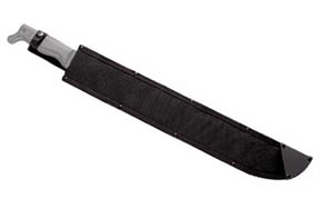 "Cold Steel Latin, Sheath, 21"" Machete, Sheath For 21"" Latin Machete, Black, Cordura SC97AM21"