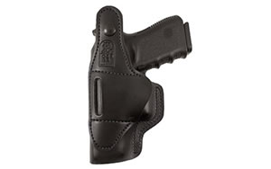Desantis Dual Carry II Holster, Fits Glock 43, Right Hand,Black 033BA8BZ0