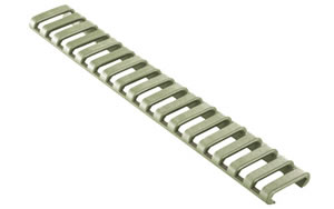 Ergo Grip Ext Rail Length Protector, Rail Covers, Fits 18 Slot Ladder, Foliage Green 4373-3PK-FG