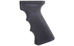 I.O. Inc. Tactical AK Pistol Grip w/Rubber Overmold, Black Finish 10143924