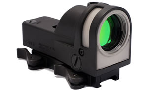 Meprolight M-21 Reflex Sight, 5 Reticles, Self-Powered, Day/Night, Quick Disconnect Mount, Black Finish Mepro M21 B