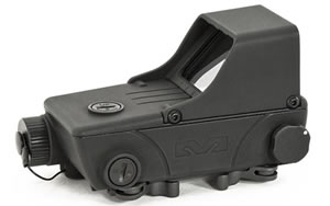 Meprolight Red Dot Sight, 1.8MOA, Black Finish, Integral Picatinny Rail Adapter Mepro RDS Pro