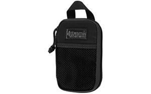 "Maxpedition Micro Pocket Organizer, Pouch, 3.5""x1""x5.5"", Black 0262B"
