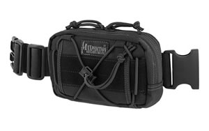 "Maxpedition Janus, Extension Pocket, 8""x1.5""x4"", Black Finish 8001B"
