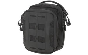 "Maxpedition Accordion Utility Pouch, 6.5""x3""x7.5"", Black AUPBLK"